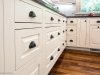 photo close up of white custom cabinetery after remodeling by acheson-builders-2nd-Street-Ann-Arbor-AFTER--12