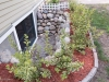 photo of plant beds and basement windows after remodeling by acheson-builders-2nd-Street-Ann-Arbor-AFTER--52