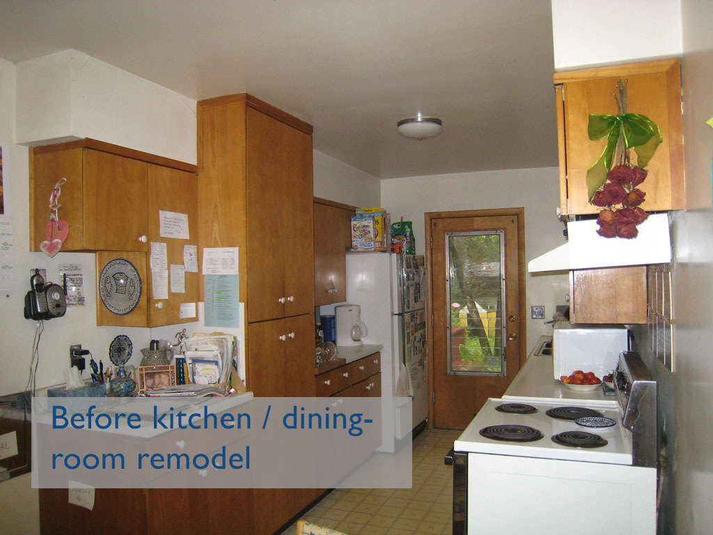 BEFORE: Kitchen Remodel