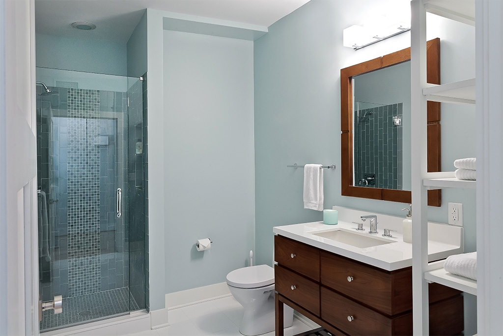 Liberty Loft Bathroom - Whole House Remodel