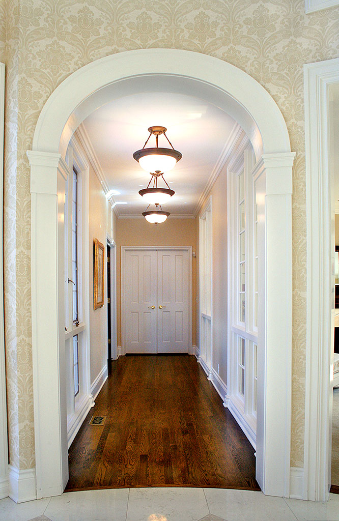 Pickford House - Arched Hallway