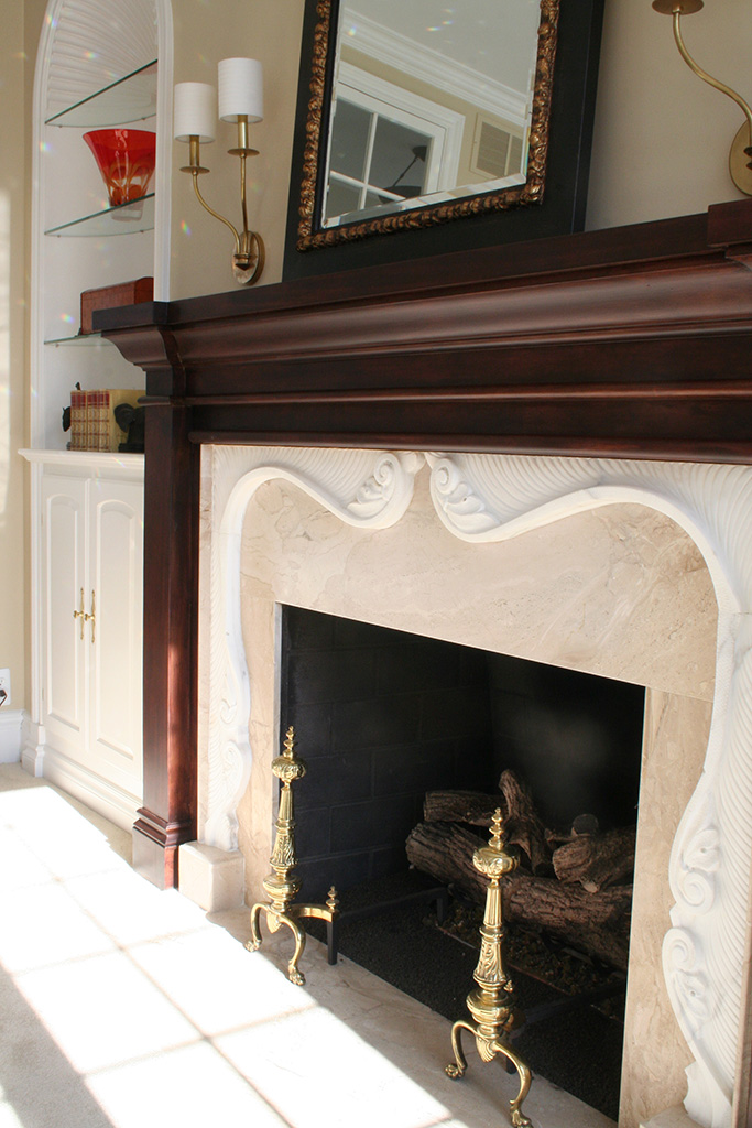 Pickford House - Sitting Room Fireplace