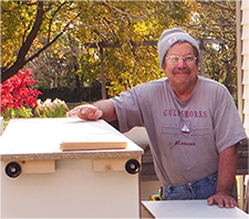 Charlie, carpenter at Acheson Buiilders