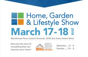 Home, Garden, Lifestyle Show 2018 sponsored by BRAG Ann Arbor